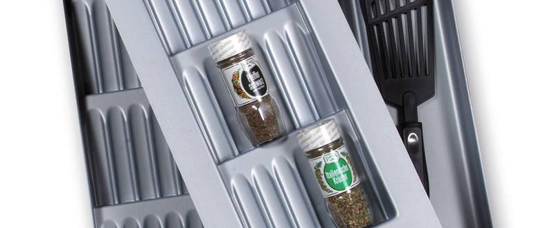 SALSA spice insert Reorganize your spice life! - Salsa Piccolo silver D