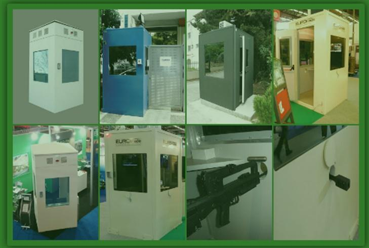 BULLETPROOF SENTRY BOX - Aspis Bulletproof Sentry Box
