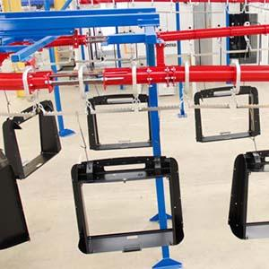 Powder Coating - Alpha Manufacturinghas a dedicated in-house powder coating plant