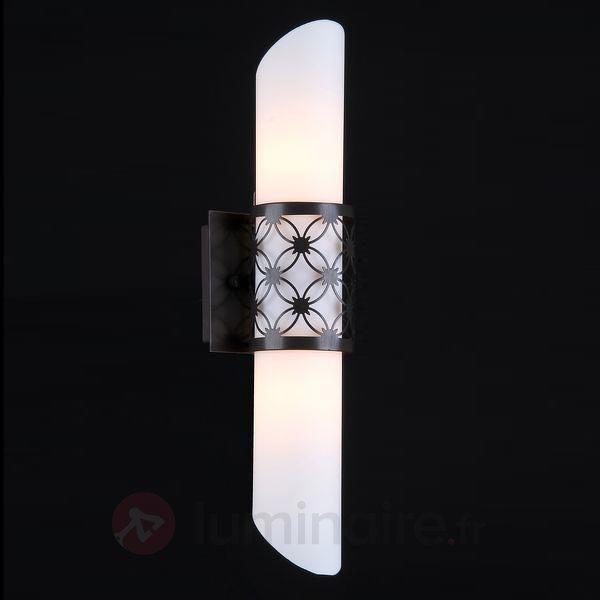 Applique tubulaire en verre Venera - Appliques en verre