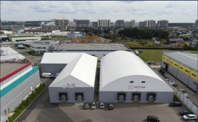 Hangar de tente -