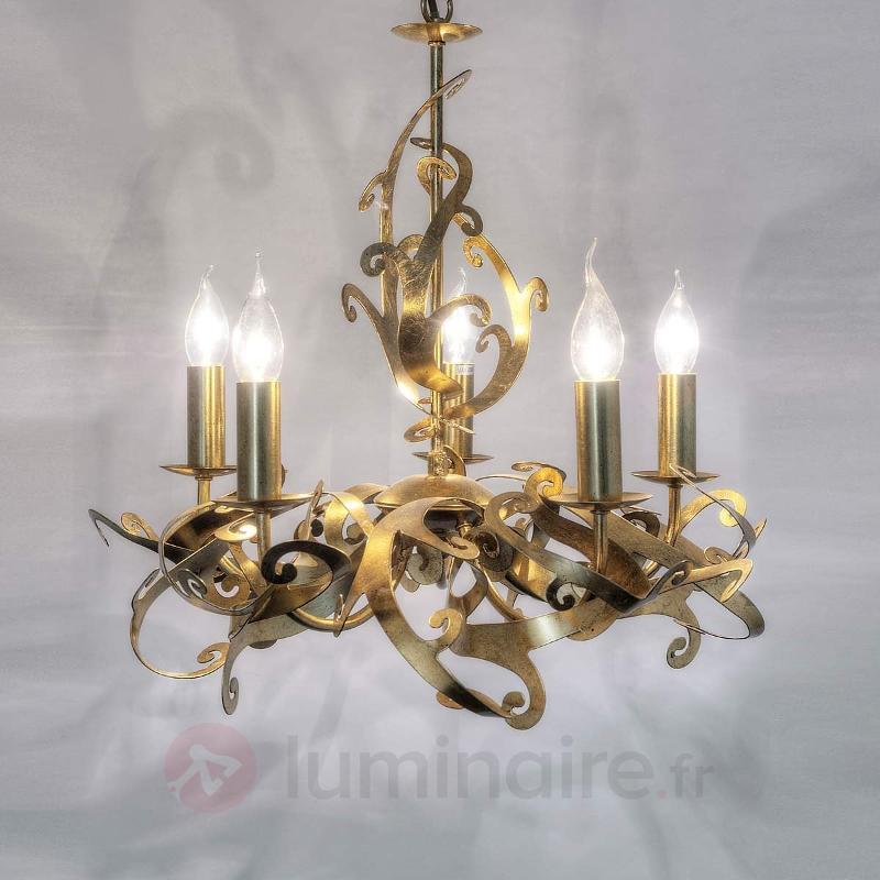 Lustre design doré Buono - Lustres designs, de style