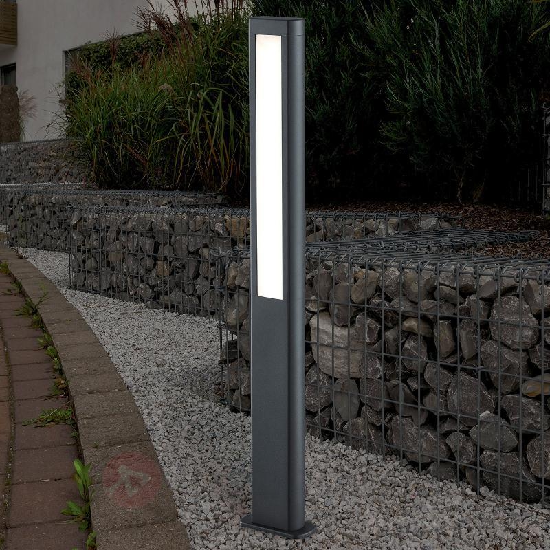 Borne lumineuse LED Rhine rectiligne - Bornes lumineuses LED