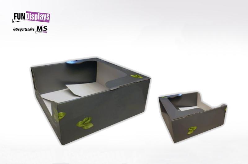 Boites en cartons - null