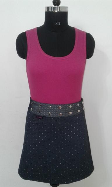 Women Stylish Warped skirts - 100% Cotton cambric printed skirt