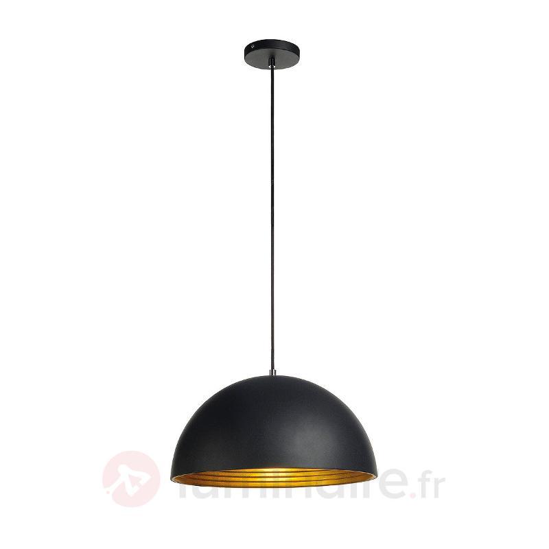 Suspension Forchini M noir doré 40 cm - Cuisine et salle à manger