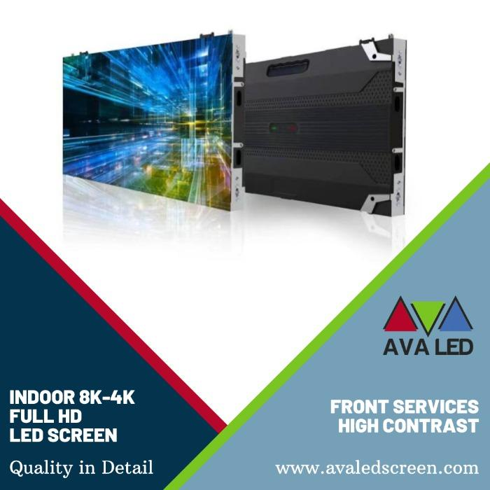 Seriess para se destacar - Tela LED Mini Pixel AVA para ambientes internos