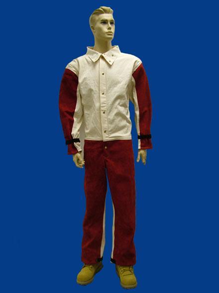 Red Leather blast suit - Blast Suits - SKU: [5050/MP]