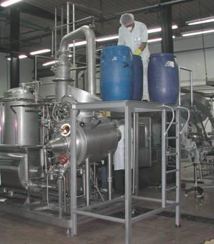 Instalaciones de cocción por lotes para confituras,  - compotas y jaleas para la mejor calidad del producto