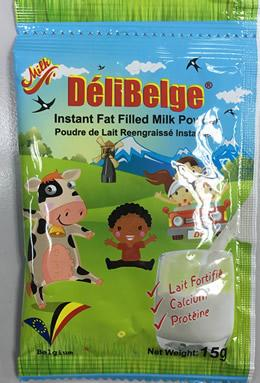DeliBelge Milk powder in sachet