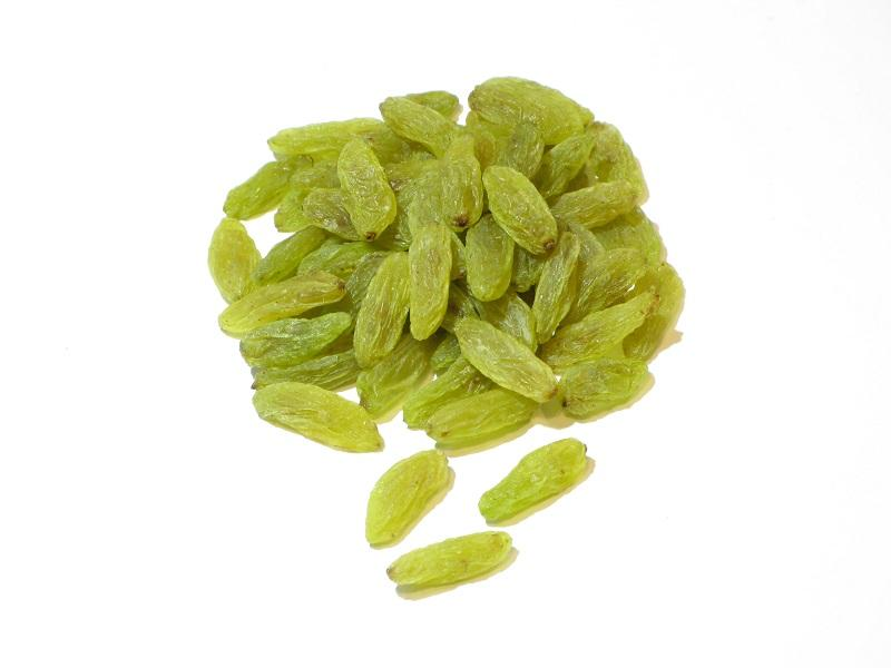 kashmari green raisins