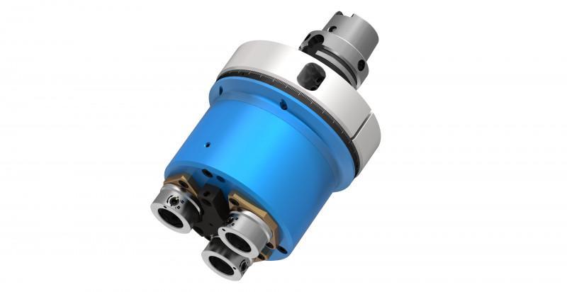 Mehrspindelkopf für Bearbeitungszentren - Mehrspindelbohrkopf zur Bearbeitung von Metall, Composites oder Holz