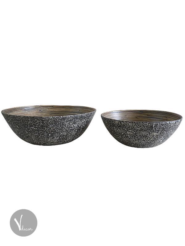 Cheetah Pattern Spun Bamboo Bowl - Shop