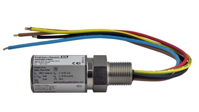 composants systeme enregistreur datamanager - parafoudre montage terrain HAW569