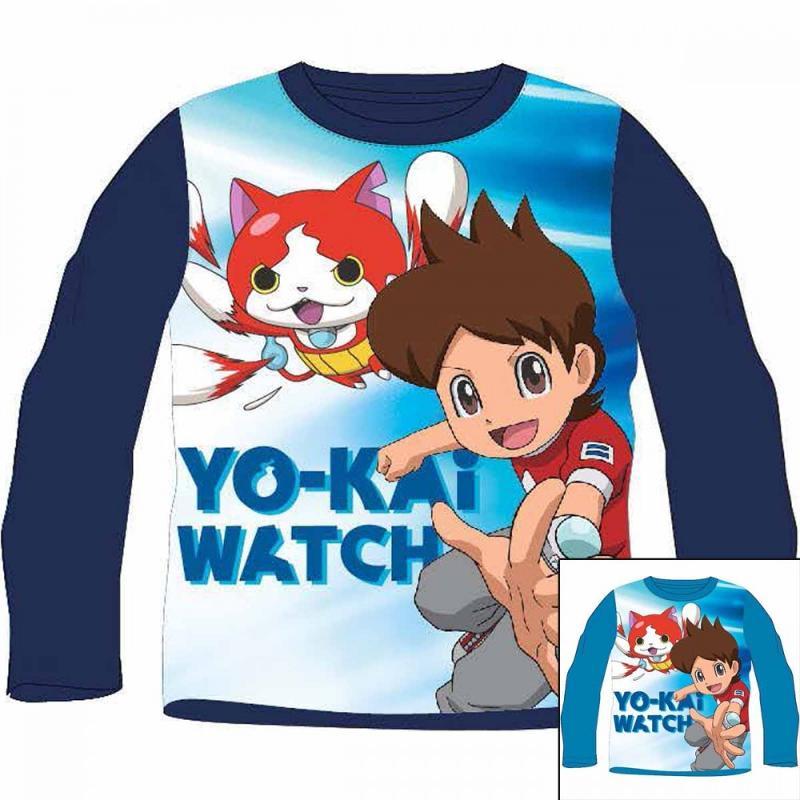12x T-shirts manches longues Yo-kai Watch du 2 au 8 ans - T-shirt et polo manches longues