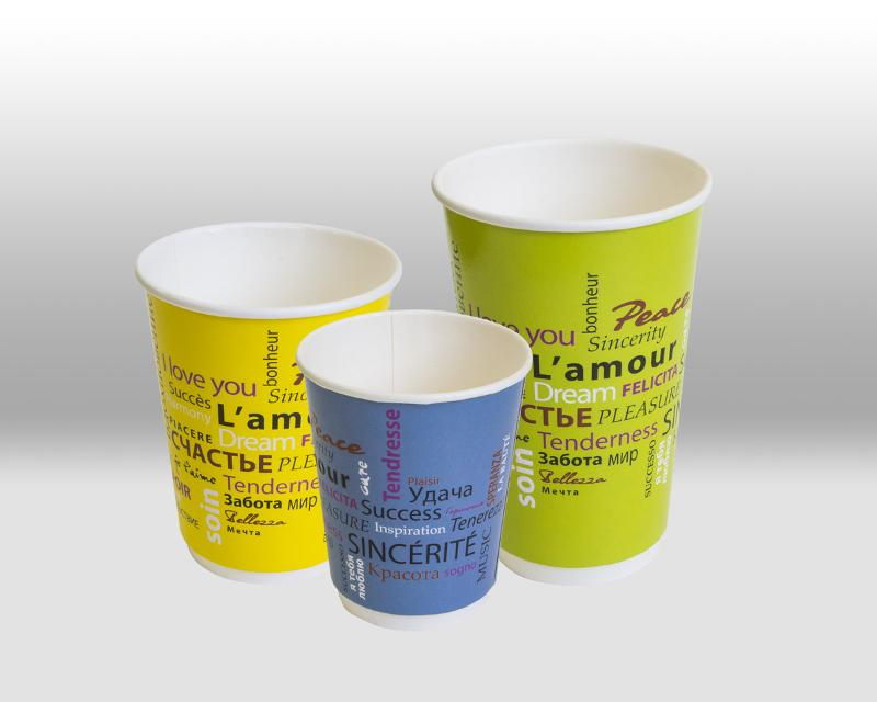Double Wall paper cup Fiesta - THERMOCUP
