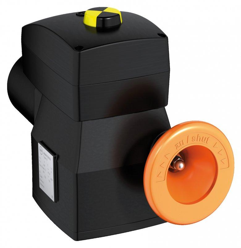 Electric actuator E 50 - E 210 - A compact series of actuators for open/close and control functions