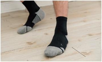 Low foot health cushion socks -