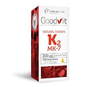 Goodvit Natural Vitamin K2 200 μg – drops - null