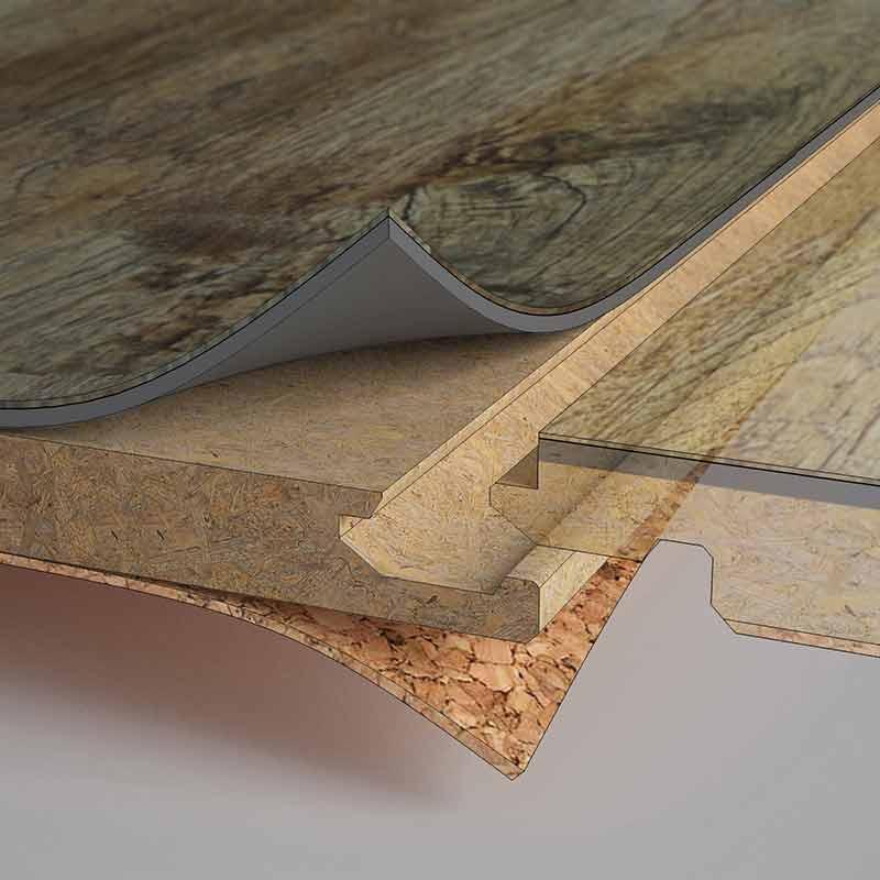 Vinylové podlahy - Plovoucí vinylové podlahy - FatraClick, RS-Click