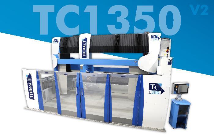 TC1350 V2 - Débiteuse Thibaut TC1350 V2 5 axes