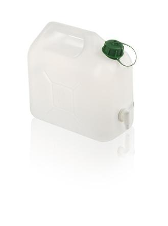 Plastic cans with tap, plastic army canister - Can 5 l with tap