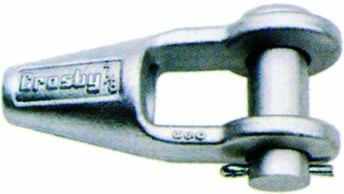 Accessoires câbles - Douille/socket/poire conique à chape G-416