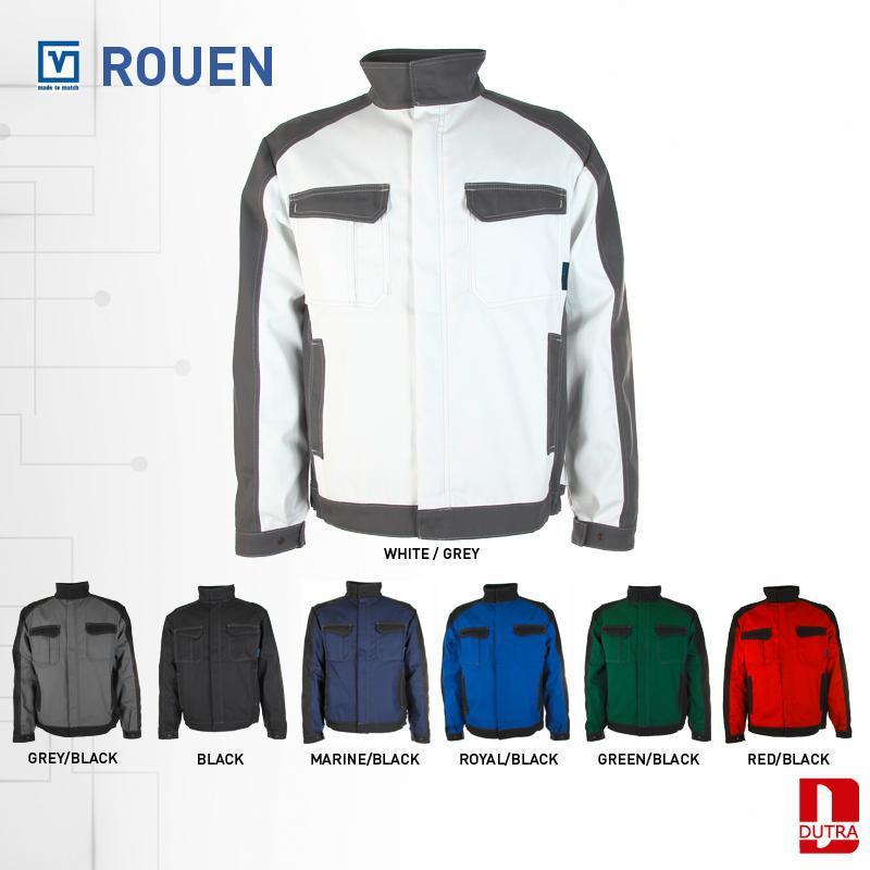 Veste de travail bicolore - Veste de travail Rouen