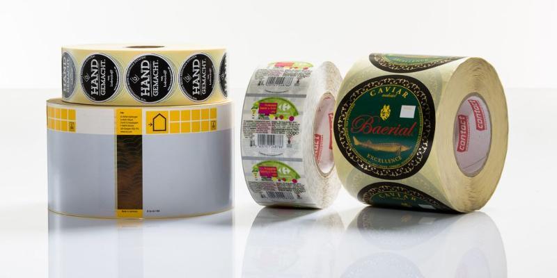 Etiketten für Industrie & Handel - Produktetiketten