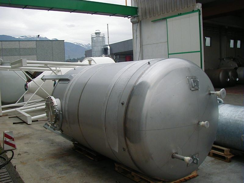 Behälter aus Edelstahl - null
