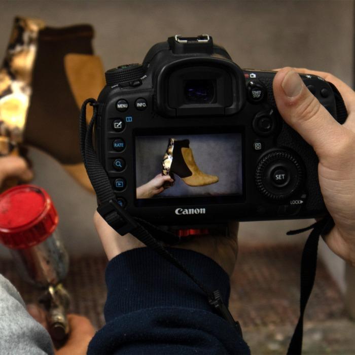 Fotografia de produto para calçado -
