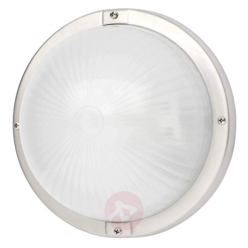Discreet outdoor wall light Philippono I - stainless-steel-outdoor-wall-lights