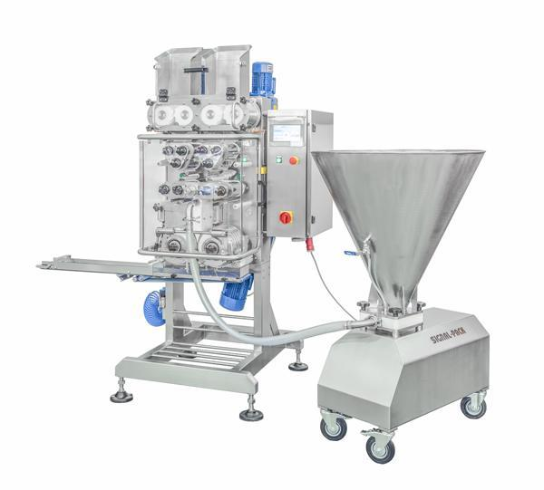 AP720 Automatic filled pasta forming machine  - AUTOMATIC STUFFED PASTA MAKING MACHINES