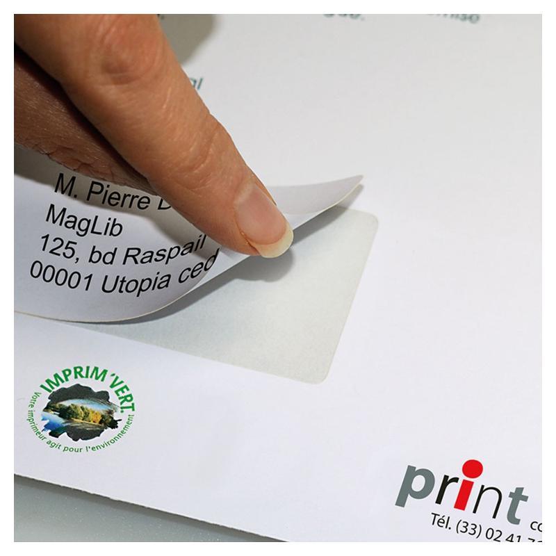 Étiquettes intégrées - Étiquettes spéciales