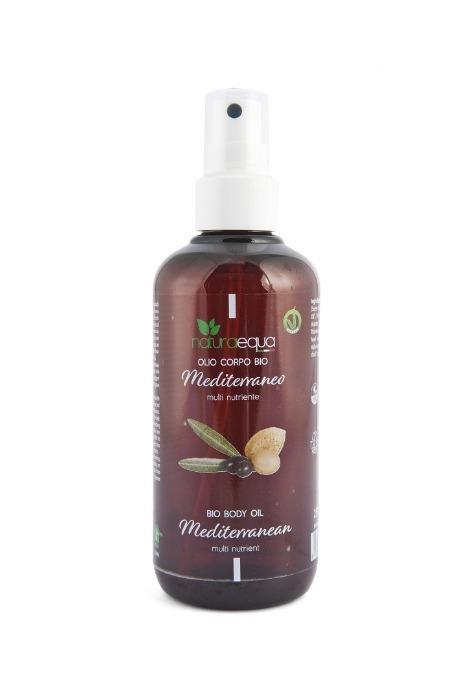 Olio corpo BIO mediterraneo - Olio completamente naturale, ricco e vellutato che si assorbe rapidamente