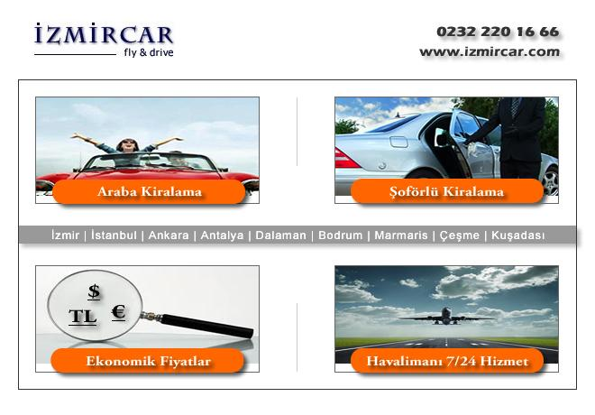 izmir Havaalanı Araba Kiralama - izmir Havaalanı Araba Kiralama Firması