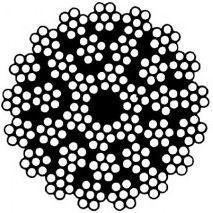 Câbles de levage: grues, etc. - Câble antigiratoire 35x7