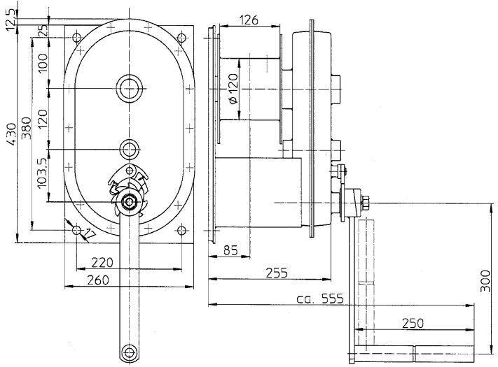 Treuils manuels - Treuil manuel à câble 3.000kg