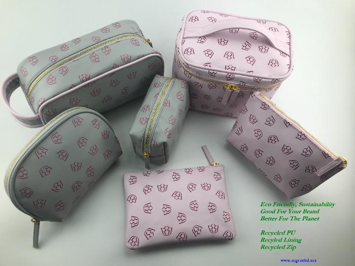 recycled PU pouch collection - RPPU-004