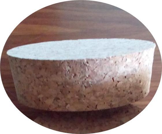 Rolha aglomerada cónica - Para Frascos de vidro, cerâmica
