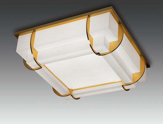 Светильник потолка бронзового искусства - Модель 373