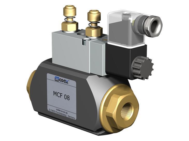 Co-ax Cfm | Mcf Coaxial Valves - 2/2 Way coaxial externally controlled valves