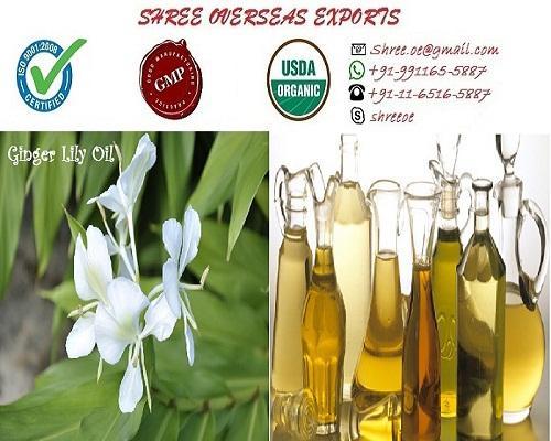 Organic Ginger Lily Oil - USDA Organic