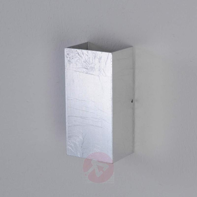 High-quality Mira LED wall light, antique silver - Wall Lights
