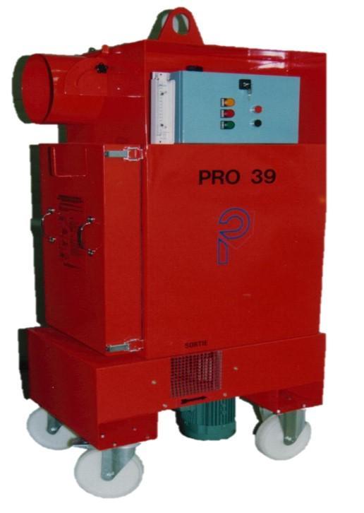 Déprimogène mobile avec filtration THE - PRO 39 Nucléaire
