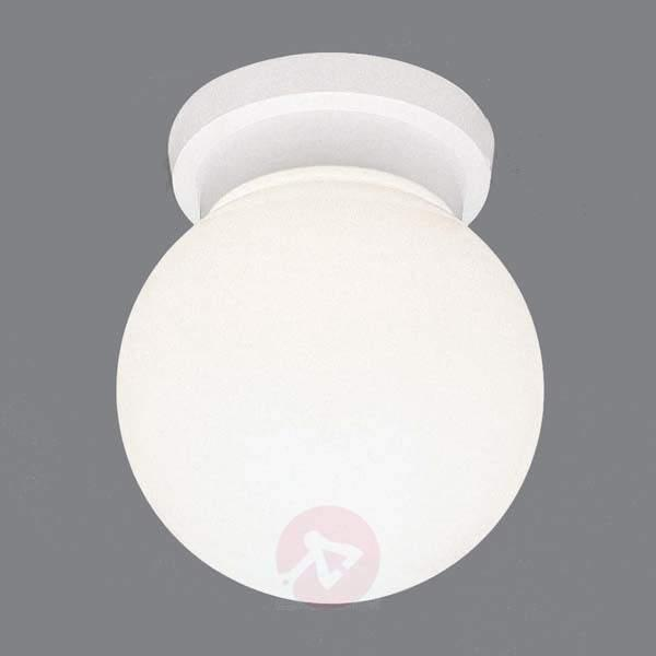 White opal glass ceiling lamp ENZO - Ceiling Lights