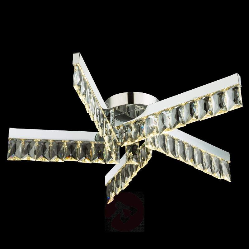 LED crystal ceiling light Febe, 30 W - Ceiling Lights