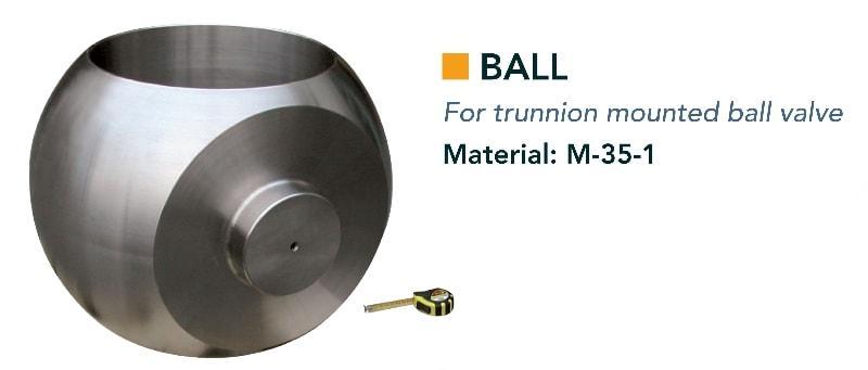 Kugel & Gegenlager - Ventile - Komponenten für Kugel- und Klappenventile