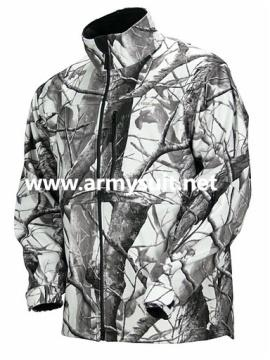 Hunting Clothing Camo Soft Shell Jacket in 3 layer - 96246