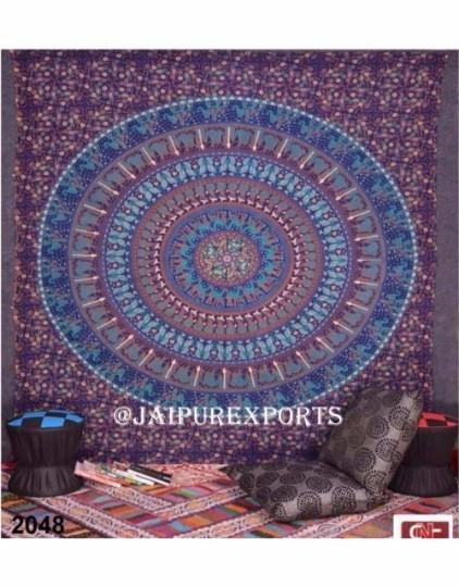 Indian Wall Hanging Hippie Boho Mandala Tapestry Home Decor